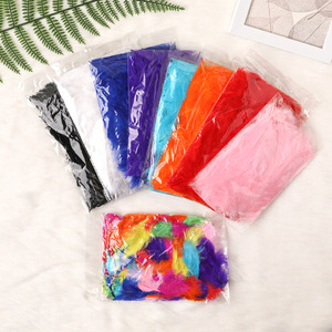 Creative Transparent Balloons Feather Filling Handmade Colorful Ballons Decoration Birthday Feather Filler Balls Accessories