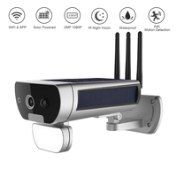Solar Powered CCTV Camera Wireless Solar WIFI Camera Solaire 1080P Outdoor Surveillance Motion Sensor Night Vision Solor Camera