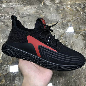 Fashion Men Sneakers Mesh Casual Shoes Lac-up Mens Shoes Lightweight Vulcanize Shoes Walking Sneakers Zapatillas Hombre size 44 6