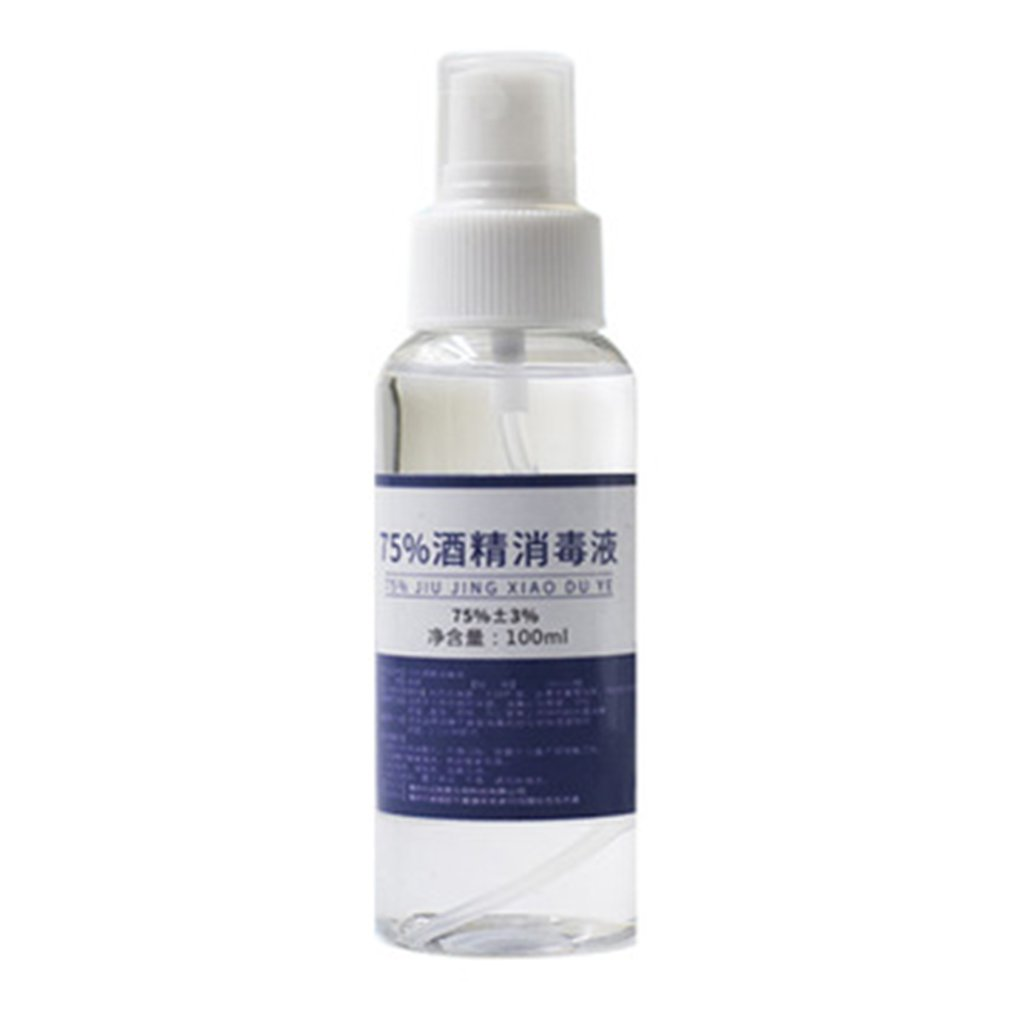Hand Sanitizer Spray 75 Degree Disinfection Alcohol Spray 100ml