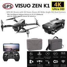 Visuo ZEN K1 RC Drone GPS Professional Drones with 4K 5G Wifi HD Dual Camera Quadcopter Flight 28mins Dron VS F11 B4W