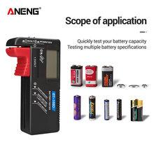 Aneng BT-168D teste de bateria automotiva testador de bateria battery tester teste bateria medidor de bateria analisador de bateria power supply tester testador de pilhas e baterias indicador de bateria monitor bateria