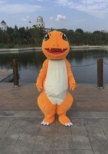 Pokemon Charmander Firedragon Mascot Costume Fancy Party Dress Cosplay Theme Mascotte Carnival Costume Halloween Party Suit
