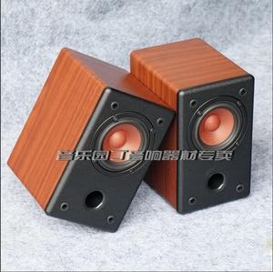 Image 5 - KYYSLB 10 20W 4 8 โอห์ม 3 นิ้ว Full Range ลำโพง HIFI AS 3Q 1 3 นิ้วเครื่องขยายเสียงลำโพง Passive ไม้ GRAIN สีดำคู่