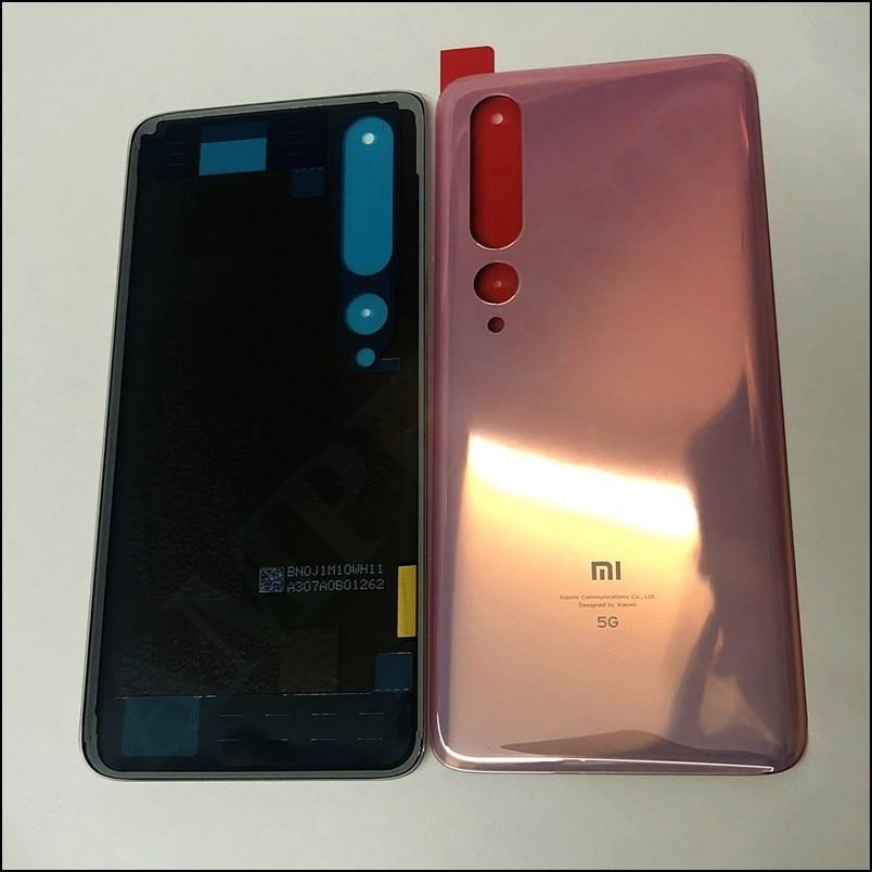 Original Glass For Xiaomi Mi10 Battery Cover Case Spare Parts For Xiaomi M10 Mi 10 Battery Back Cover Door Phone Housing Case