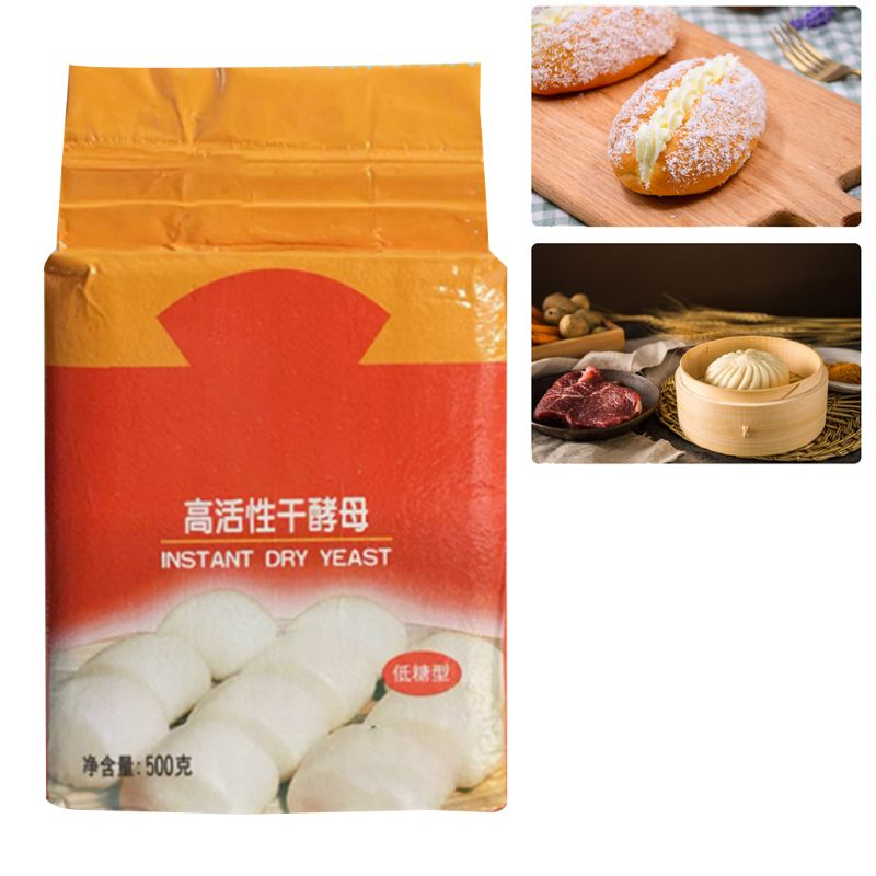 Making 500g Low Sugar Tolerance Instant Dry Yeast Baking Powder High Activity Powder Bread