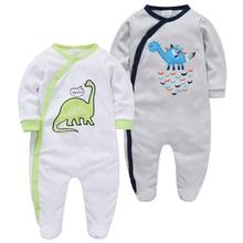 Kavkas Baby Boy Clothes Cotton Full Sleeve Cute Cartoon Print my first christmas girl clothing baby girl Body bebe 2pcs/set Baby