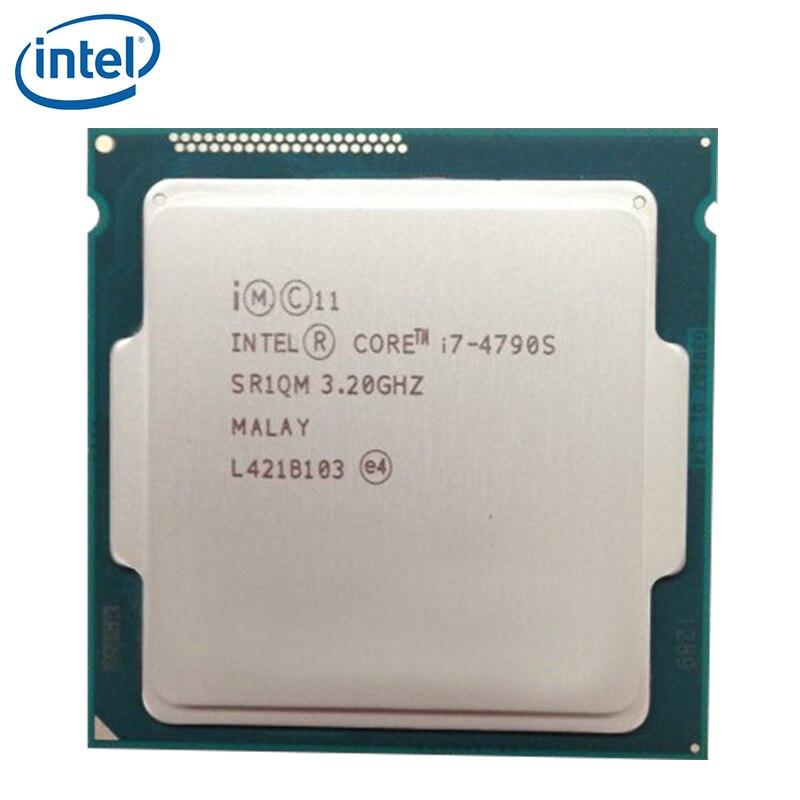 Intel Core i7-4790S i7 4790S 4GHz Quad-Core Eight-Thread Desktop CPU Processor 65W 8M LGA 1150 tested 100% working 1