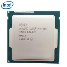 Четырехъядерный процессор Intel Core, процессор для настольного ПК с восьмиядерным процессором Intel Core, 4790S, 4 ГГц, 65 Вт, 8 м, LGA 1150, Протестировано на ...
