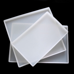 DIY Crystal Epoxy Silicone Mold Large Size Square Manual Swing Table Pressure Clay Mold Silicone Resin Mold Crafts DIY