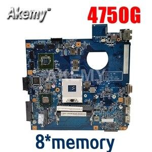 Image 1 - Для For Acer Aspire 4750 4750g 4752 4752g 4755 4755g материнская плата для ноутбука 8 * Графическая память 48.4IQ01.031 MBBRT01003 PGA989