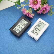 Temperature Sensor Digital LCD Room Convenient Humidity Meter Thermometer Hygrometer Humidity Mini Indoor Temperature Sensor(China)