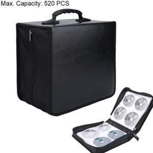 Image 5 - Portable CD DVD Wallet Holder Bag Case Album Organizer Media Storage Box