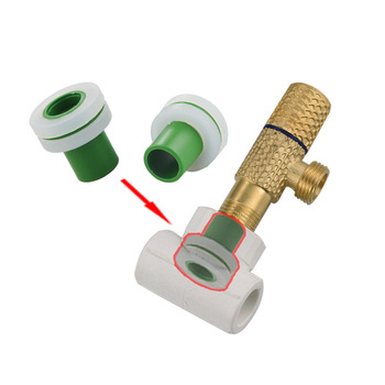 цена на 10pcs Faucet PPR Pipe Plugs 1/2