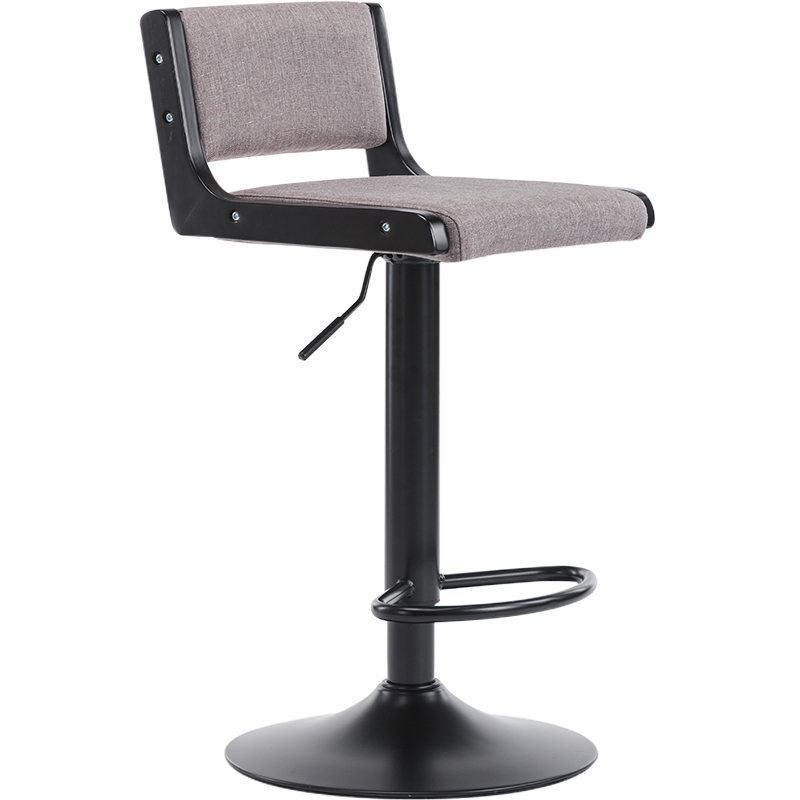 Bar Stool Lift Simple High  Cash Register Bar Chair Home European     Back