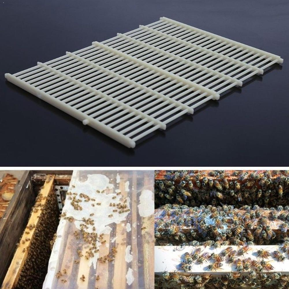 For 10 Frame Beekeeping Beekeeper Bee Queen Excluder Separated Plastic Board Grid Tool Trapping King Royal Net Kit Board P6U4