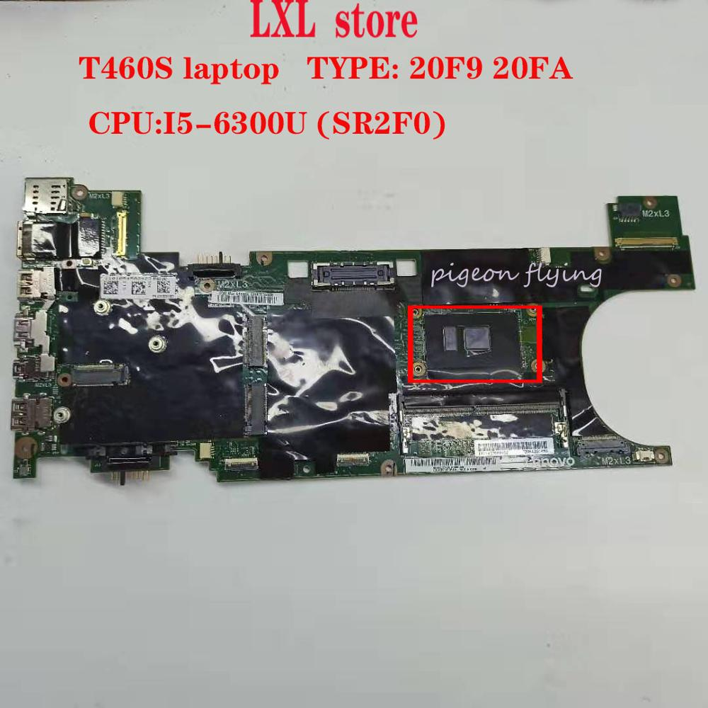 T460S motherboard Mainboard for Thinkpad laptop 20F9 20FA BT460 NM A421 CPU: I5 6300U DDR4 4GB FRU 00JT937 00JT935 100% test OK Laptop Motherboard     - title=