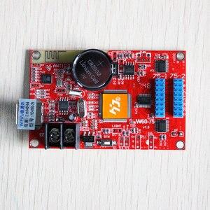 Image 5 - Huidu HD W60 75 HD W60 75 HD W60 75 led sign module U Disk control card and wifi wireless controller huidu wifi