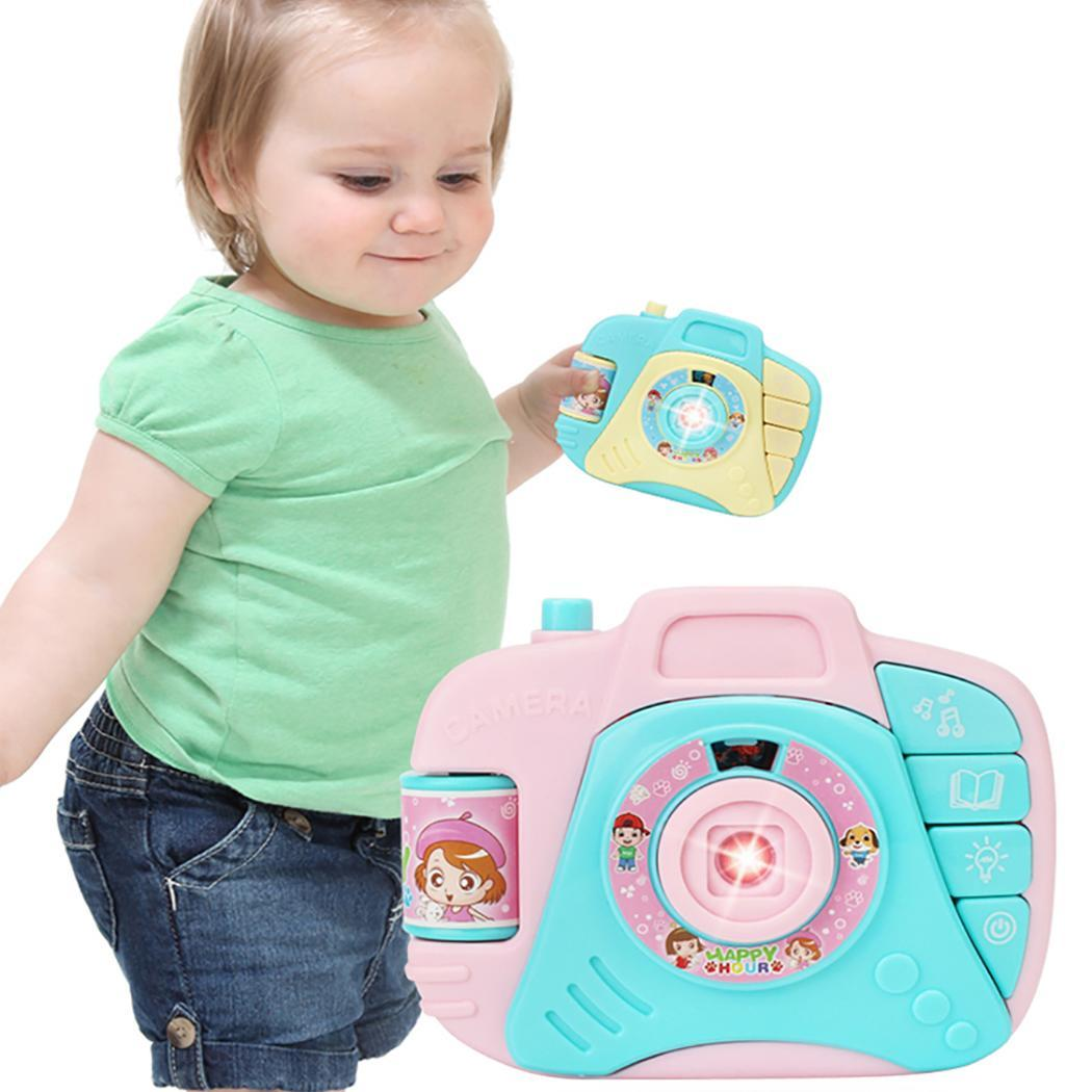 Portable Cute Cartoon Children Plastic Toy 2 X AA Battery(Not Include) Simulation Camera Toy >3 Years Old