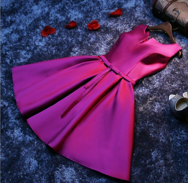 Vestido de noche para mujer, vestido de fiesta corto 5