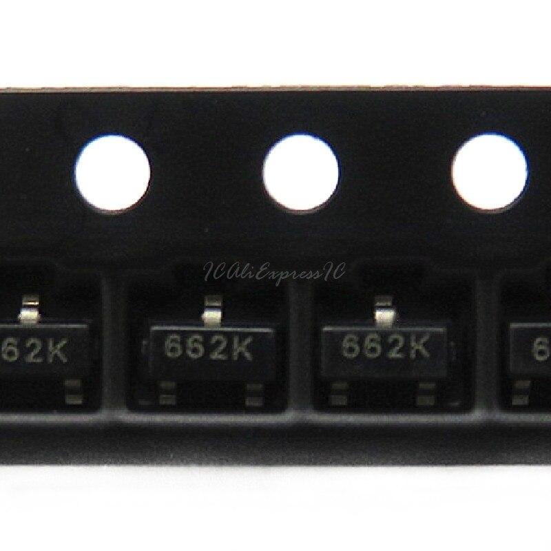 50 шт./лот XC6206P332MR SOT-23 XC6206P332 SOT23 XC6206 SMD(662K) 3,3 V/0.5A Положительное фиксированное напряжение LDO новое и оригинальное в наличии