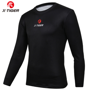 X-TIGER Winter Long Sleeve Warm Cycling Base Layer Bicycle Shirt Fleece Sports Bike Shirt Keep Warm MTB Racing Bike Underwear