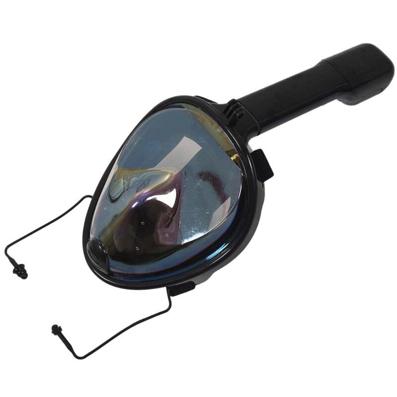 máscara de mergulho de snorkel de natação