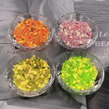 1000 Uds 4mm oro Luz de PVC suelto Lentejuelas Para artesanías Paillette DE Coser accesorio Para decoración DIY Lentejuelas Para Coser