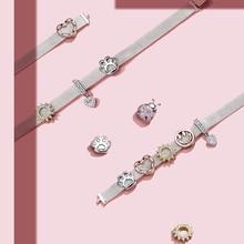 New genuine 925 sterling silver bee ladybug pendant beads fit original Pandora reflexions bracelet charm girl DIY jewelry