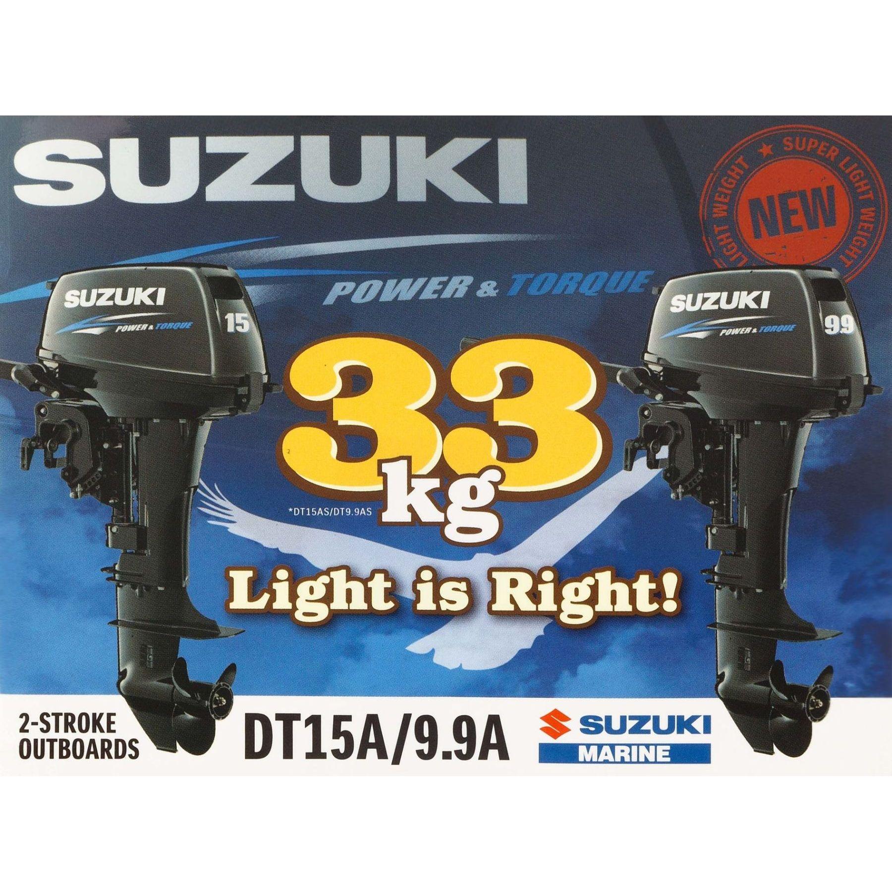 Stickers Suzuki Dt9.9-15 99999c6038061