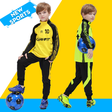 Kids Soccer Tracksuit Child Football Tracksuit Warm Flecce Training Football Uniform Soccer Sportswear Uniform Tracksuit For Boy