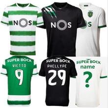 2021 High Quality Sporting Lisbon Men's Football T-Shirt 20/21fashion Sparting Clothing C RONALDO PHELLYPE  Soccer Uniforms