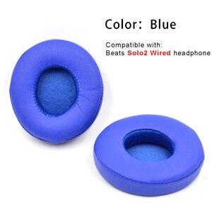 Image 5 - Defean substituição almofadas de ouvido almofada travesseiro para batidas solo2 solo2.0 solo 2 2.0 fones preto cinza azul rosa