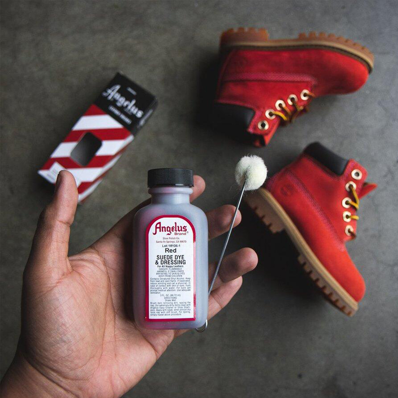 America Import 24colors Suede Leather Dyeing Water Stain Suede Penetration Dye Acrylic Paint Shoes Repair Coloring 87.6ml Bottle