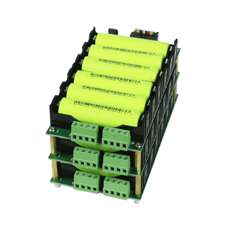 Power bank 12V battery pack lithium battery case balance circuits 40A 80A BMS 3S battery box diy ebike 18650 battery hold Battery Accessories     - title=
