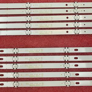 Image 4 - 10 sztuk/zestaw listwa oświetleniowa LED dla LG 55UJ635V 55UJ6307 55UJ634V 55UJ630V 55UJ635 SSC_55LJ55/55UJ63_B w Eav63632405 EAV63673005