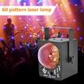 Лазерный проектор светодиодный сценический светильник звуковой активированный диско-светильник ing Ball лампа RGB проектор вечерние светильни...