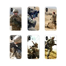 Army Soldier Printed For Samsung A10 A30 A40 A50 A60 A70 Galaxy S2 Note 2 3 Grand Core Prime Accessories Phone Cases Covers(China)