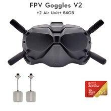 DJI-gafas FPV V2 con transmisión de imagen Digital de larga distancia, baja latencia antiinterferencias y fuerte, en stock