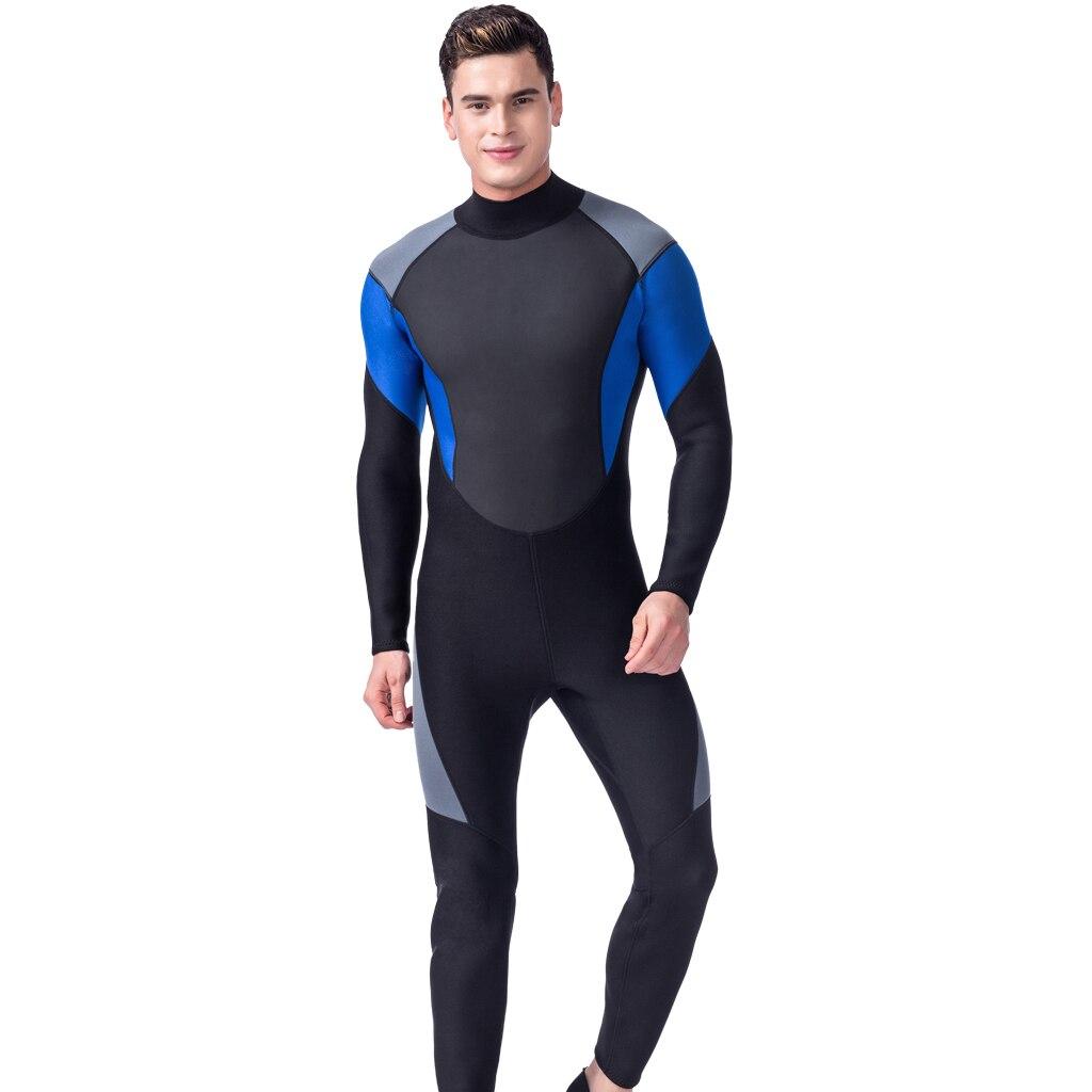 Combinaisons hommes 3mm néoprène corps complet peaux de plongée hiver natation plongée en apnée surf combinaison de plongée combinaison humide