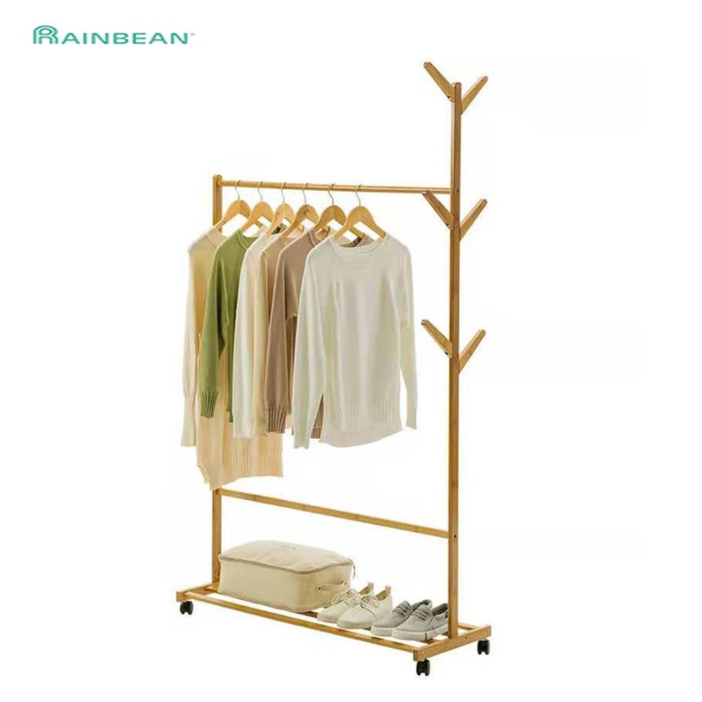 Plancher portemanteau chapeau porte-vêtements chambre meubles cintre Simple intérieur ménage résistant au vent créatif peut être déplacé