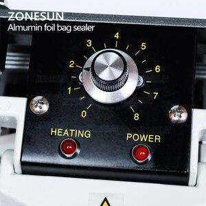 Image 4 - ZONESUN sealing machine Constant Heat Handheld Sealer Sealing Machine Mylar Aluminum sealer Foil Bag sealer
