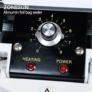 Image 4 - Zonesun Sluitmachine Constante Warmte Handheld Sealer Sluitmachine Mylar Aluminium Sealer Folie Bag Sealer