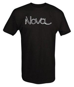 Chevy Nova Ss V8 350 396 Logo znaczek-koszulka Unisex luźny krój koszulki