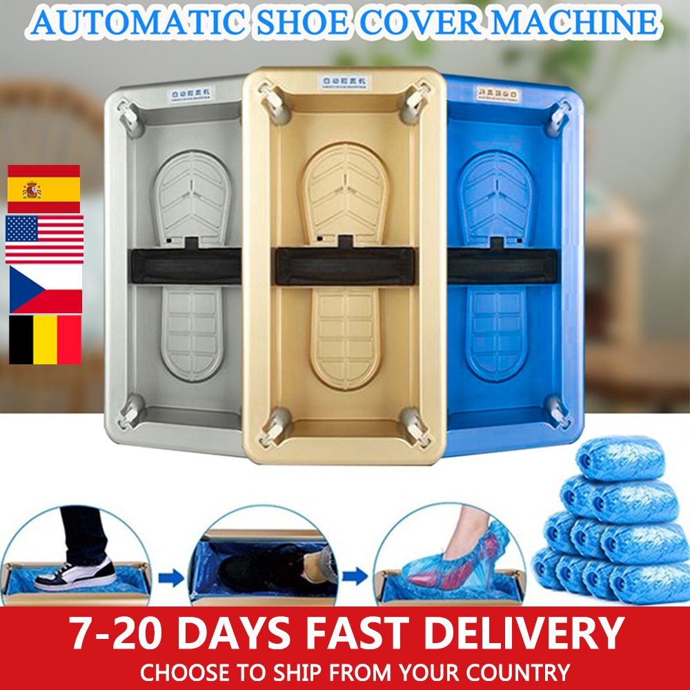 Automatic Shoes Cover Dispenser Household Disposable Shoes Cover Machine Anti Droplet Dust Machine Booties Maker For Home Office