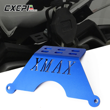 XMAX Motorcycle Front Phone Stand Holder Smartphone Phone GPS Navigaton Plate Bracket For Yamaha XMAX125 250 300 400 2017 2018