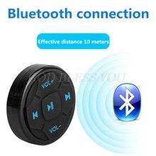 Đa Năng Lái Ô Tô Không Dây Điều Khiển Từ Xa Bluetooth Truyền Thông Nút Điều Khiển Điện Thoại Di Động Trên Ô Tô Thả Vận Chuyển
