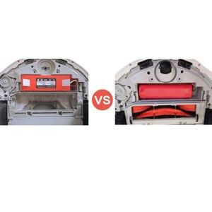 Image 4 - li ion 18650 battery for XIAOMI ROBOROCK Vacuum Cleaner S50 S51 T4 T6 mi robot Vacuum Cleaner accessories