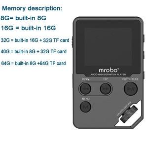 Image 5 - مشغل موسيقى أصلي mrobo C5 8 جيجا بايت مصنوع من المعدن بالكامل بلا فقدان HIFI مشغل موسيقى MP3 شاشة TFT يدعم سجل الصوت الإلكتروني للكتب