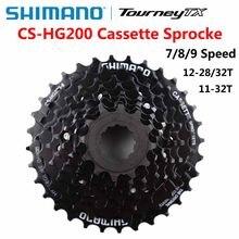 Shimano CS HG200 CS-HG200 7S 8S 9S MTB mountain bike flywheel 7 speed 8 speed 9 speed cassette 12-32T 12-28T bicycle parts